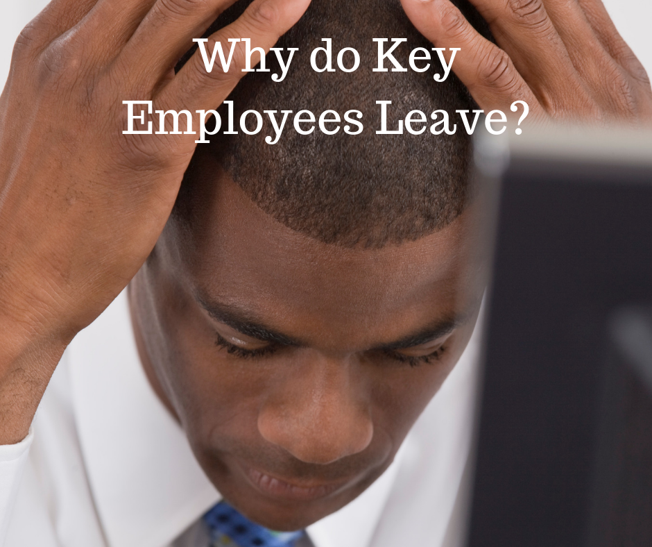 why key employees leave