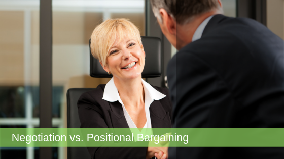 negotiation positional bargaining